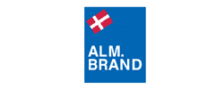 Alm. Brand logo - Alm. Bank is a customer at TM Group