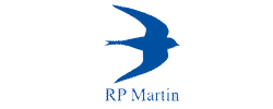 RP Martin logo - RP Martin is a customer at TM Group