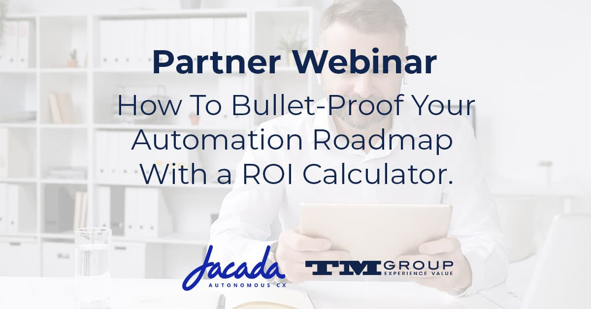How To Bullet-Proof Your Automation RoadMap With a ROI Calculator